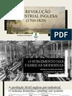 A revolução Industrial Inglesa (1760-1820)