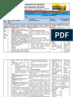 PLAN DE AULA Modificado Semana 1, 2,  Grado 10° - 2020 - P2