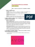 EXAMEN PARCIAL DE COMPORTAMIENTO DEL CONSUMIDOR