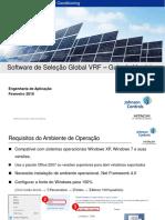 Guia do Software de Seleção Global VRF Versão 3.0.0 - Português