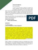 FALSIFICACIÓN DE DOCUMENTOSs