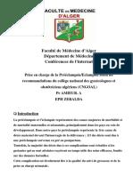 06 PEC DE LA DYSGRAVIDIE SELON LE CNGOAL