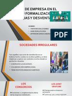 TIPOS DE EMPRESA EN EL PERÚ FORMALIZACION-jhair