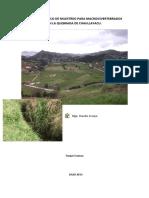 INFORME TÉCNICO DE MUESTREO PARA MACROINVERTEBRADOS  EN LA QUEBRADA DE CHAULLAYACU.pdf