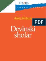 ALOJZ REBULA - Devinski Sholar