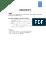 Ejercicios de automatización con PLC