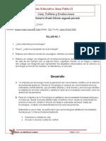 Taller no. 1 Etica y tenologia