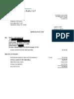 District 86 Lawsuit Legal Bills