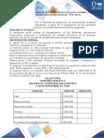 Taller Anexo -Evaluación final POA- Realizar el proceso contable a un conjunto de operaciones económicas- Post tarea