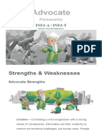 Strengths & Weaknesses _ Advocate (INFJ) Personality