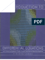 An Introduction to Diff Equations