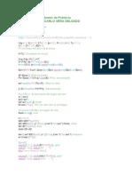 Programación en SCILAB de estabilidad de sistemas de potencia