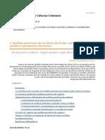 Medidas protetivas da Lei Maria da Penha - natureza juridica e parametros decisorios.pdf