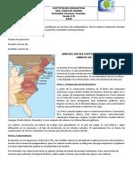 BREVES DATOS HISTÓRICOS DE ESTADOS UNIDOS DE AMÉRICA