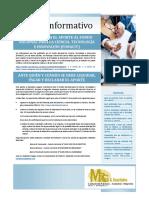 Boletín Informativo N°1, Julio2020