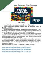 AULA DE ARTES 30 DE JUNHO 2A