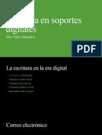 Escritura en soportes digitales