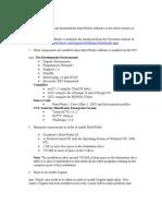 Docs Questions