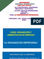 SEMANA 4 -ORGANIZACION