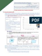 Ficha de Actividades de Aprendizaje 5to grado U3S1 MATEMÁTICA JPII