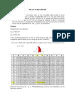 William Vitola- Estadística - Taller de hipótesis