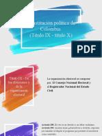 Expo - T.IX de las elecciones y T. X Org. de Control
