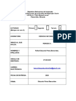ACTIVIDAD3 MAPA MENTAL CELULA HUMANA RAFAEL PEREZ V27624620 ABRIL 2020