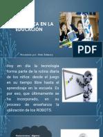 Robótica en La Educación