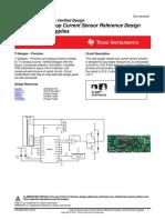 ±100 A Closed-Loop Current Sensor Reference Design