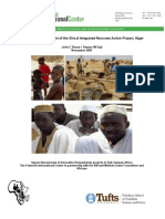 Impact Assessment of the Chical Integrated Recovery Action Project, Niger