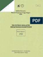 TPS - Pengetahuan Kuantitatif