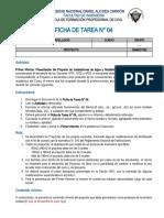 Ficha de Tarea N° 04 - Ptrsentación del Proyecto - Pimera Unidad