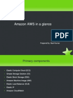 Amazon Web Service in a glance