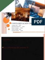 Contaminación urbana ecologia pequeña