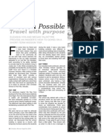 Christian Woman Travel Diary Article