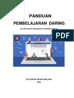 Panduan Pembelajaran Daring Polinema 1 APRIL 2020 Fix share
