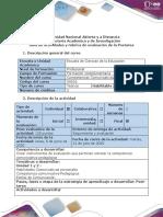 Postarea - Evaluación final