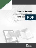 Livro - LIBRAS e temas contemporaneos em educacao