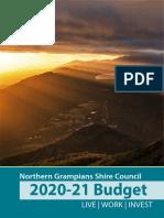 Ngsc Draft Budget 2020 21