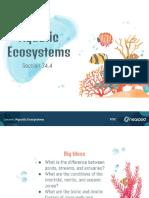 aquatic ecosystems