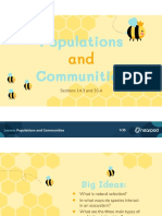 populations and communities  2