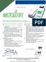 NeoLumax Flyer traducido al español