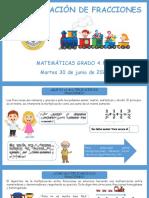 1. Multiplicaciones y divisiones de fracciones