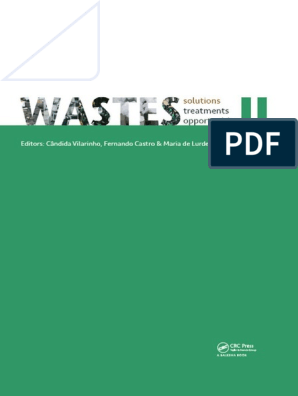 Wastes 2017 Solutions Treatments And Opportunities By Candida Vilarinho Fernando Castro Z Lib Org Municipal Solid Waste Concrete