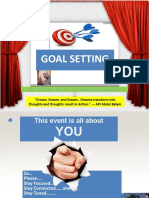 Goal setting ppt By Phani