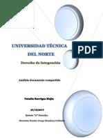 Desarrollo análisis del documento INTRODUCCIÓN