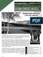 Spring 2009 Capitol Land Trust Newsletter