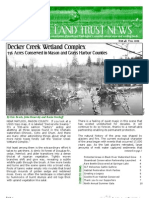Fall 2009 Capitol Land Trust Newsletter