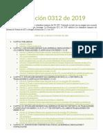 Resolución 0312 de 2019 Actualizada safetya