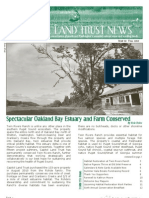 Fall 2010 Capitol Land Trust Newsletter